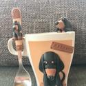 Tacsis bögre+teáskanál+teafiltertartó, Miki28 részére készítettem.  Köszönöm a meg...
