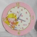 Sweet Little Princess óra, Igazi kislányos darab lett ez a 22cm átmérőjű...