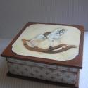 Hintalovas doboz, Nosztalgikus hangulatú fadoboz, ami régi gyereks...