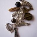 Kulcstartó férfiaknak, Ékszer, Mindenmás, Férfiaknak, Ékszer, kiegészítő, Igazi férfias  kulcstartó :bor, sör autó, nyakkendő,,,és ásványok., Meska