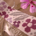 Virágoskert - Lefoglalva Crystal részére!, Ez a karkötő nagyon vidám színekből fűzött,...