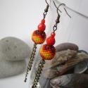 Amor - bogyós fülbevaló, Bogyós fülbevaló igazi mediterrán színekkel!...