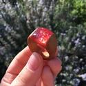 Coral - kagyló köves fa gyűrű - NYÁRI kollekció!, Ékszer, óra, Gyűrű, Ékszerkészítés, Famegmunkálás, Egyedi tervezésű, kagylóval díszített, fából és gyantából készült gyűrű. A benne rejlő apró kagyló ..., Meska