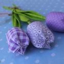 tavaszi tulipán , Dekoráció, Húsvéti apróságok, Varrás,  Egy kis kedveskedés a mindennapokra vagy a különleges alkalmakra, hogy maradandó emlék legyen!  Mi..., Meska