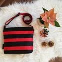 Textilbőr táska, Baba-mama-gyerek, Ruha, divat, cipő, Táska, Válltáska, oldaltáska, Kis táska, a nagy hatás kedvéért! :)  Különleges alapanyagokból, készleten,azonnal vihető! Egy darab..., Meska