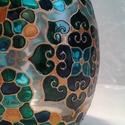 Mandala mécses, Hordó alakú, közepes méretű mécses, körben ...