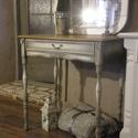 Vintage Provance asztalka, Bútor, Asztal, Vintage Provance asztalka, Meska
