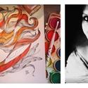 Átvarázsolt portré rendelésre, Dekoráció, Képzőművészet, Kép, Grafika, Festészet, Mindenmás, Portréfotó alapján készítem el teljesen egyedi tusrajz-akvarell portrédat.Nem a megszokott portréra..., Meska