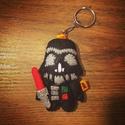Darth Vader filc kulcstartó/táskadísz, Mindenmás, Táska, Kulcstartó, Begyűrűzött a Star Wars örület,aminek első darabja maga Darth Vader,de még több szereplő csatlakozik..., Meska