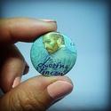 Loving Vincent kitűző, Ékszer, Képzőművészet, Mindenmás, Bross, kitűző, Fő-fő kedvenc festőm,Van Gogh csodás filmje ihlette a házi kitűzőgyártónk által készítet..., Meska