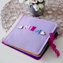 Baba okoskönyv, csendeskönyv 1-3 év SAJÁT NÉVVEL Fiús vagy lányos, Okoskönyv a piciknek is! Személyre szabható, a ...