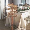 Iránymutató nyilak, Esküvődön szükséged lenne valamire, amivel tu...