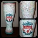 Liverpool foci rajongói sörös pohár 500 ml , Konyhafelszerelés, Férfiaknak, Focirajongóknak, Sör, bor, pálinka, Decoupage, transzfer és szalvétatechnika, Liverpool foci rajongói sörös pohár 500 ml   Sör kedvelőknek kötelező kellék! Kiváló ajándék mikulá..., Meska