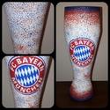 Bayern München foci rajongói sörös pohár 500 ml , Konyhafelszerelés, Férfiaknak, Focirajongóknak, Sör, bor, pálinka, Decoupage, transzfer és szalvétatechnika, Bayern München foci rajongói sörös pohár 500 ml   Sör kedvelőknek kötelező kellék! Kiváló ajándék m..., Meska