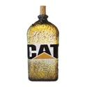 Cat, caterpillar  díszüveg szülinapra, névnapra, házavatóra, karácsonyra.  , Otthon, lakberendezés, Férfiaknak, Sör, bor, pálinka, Legénylakás, Decoupage, transzfer és szalvétatechnika, CAT, Caterpillar italos dísz- és használati üveg szülinapra, névnapra, házavatóra, karácsonyra.  (1..., Meska