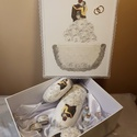 Mr. és Mrs. díszdobozos ajándékszett esküvőre, házassági évfordulóra. , Esküvő, Esküvői dekoráció, Nászajándék, Decoupage, transzfer és szalvétatechnika, Mr. & Mrs. díszdobozos ajándékszett esküvőre, házassági évfordulóra.   A termék rendelhető felirato..., Meska