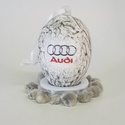 Audi húsvéti tojás, autó rajongói meglepetés tojás, nem csak húsvétra, névnapra, szülinapra, gyermeknapra., Konyhafelszerelés, Otthon, lakberendezés, Dekoráció, Dísz, Decoupage, transzfer és szalvétatechnika, Audi húsvéti tojás, autó rajongói meglepetés tojás, nem csak húsvétra, névnapra, szülinapra, gyerme..., Meska