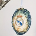 Real Madrid húsvéti tojás foci rajongói meglepetés tojás nem csak húsvétra, névnapra, szülinapra, gyermeknapra, Konyhafelszerelés, Otthon, lakberendezés, Dekoráció, Dísz, Decoupage, transzfer és szalvétatechnika, Real Madrid húsvéti tojás foci rajongói meglepetés tojás nem csak húsvétra, névnapra, szülinapra, g..., Meska