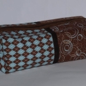 Uniszex  tároló , Férfiaknak, Táska, Neszesszer, Amerikai Moda Fabric textil felhasználásával készítettem ezt a nagy méretű neszesszert. Belse..., Meska