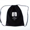 Hátizsák pulival, Erős munkaruha vászonból készült ez a hátizs...