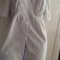 ujragondolt  ingruha, Ruha, divat, cipő, Női ruha, Blúz, Ruha, 40-42 méret Ujragondolt ingruha Egyedi. Csipkével diszített, Meska