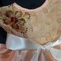 keresztelő alkalmi ruhácska sway, 74es méret egyedi darab