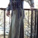 ÓRIÁSI AKCIÓÓÓÓÓ !!!  Khaki-halvány zöld gépi hímzett, hosszú szoknya, Ruha, divat, cipő, Magyar motívumokkal, Női ruha, Szoknya, %%%ÓRIÁSI AKCIÓ!!! EZ A SZOKNYA MOST CSAK 1990 FT.( 3990 FT. HELYETT)  Hat részből szabott, lefelé b..., Meska