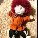 Kópé a vöröshajú kis manó baba, Ez a kis manó az első saját tervezésű babám....