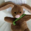 Puha nyuszi - Bunny softie, Ez a nyuszi pihe-puha, bundája is lágy és könn...