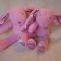 Jasmin and Rose - Két puha nyuszi - Bunny softie, Jasmine és Rose nyusziikrek Hédi megrendelésér...