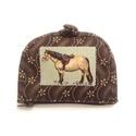 Barna virágos lovas pénztárca, A pénztárcák amiket készítek összehajtva: 12...