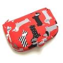 Piros tacskó mintás pénztárca, A termék megnevezése: pénztárca.  Zsűrizett t...