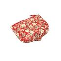 Piros virág mintás pénztárca, Táska, Divat & Szépség, Táska, Pénztárca, tok, tárca, Pénztárca, Erszény, Krémszínű virág mintás pénztárca. A pénztárcák amiket készítek összehajtva: 12x12cm, kinyitva. 12x19..., Meska