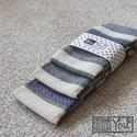 Vidéki romantika textilzsebkendő szett - 3 darabos