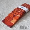 Indián nyár - narancs pöttyös pamut zsebkendő szett - 5 darabos, Ruha, divat, cipő, Férfiaknak, Nyár van? Vagy ősz? :) Ez a puha zsebkendő szett meleg színének köszönhetően nyárias és őszies is eg..., Meska