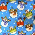 Hóemberes gumis lepedő gyerekeknek, Baba-mama-gyerek, Gyerekszoba, Minden kisgyerek álma a téli hóesésben hóembert építeni:) Lepd meg Őt ezzel a hóemberes, igazán téli..., Meska