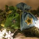 TÜRKIZ és KIWI ajándék zsákok - Mikulásra, karácsonyra, pöttyös, Dekoráció, Ünnepi dekoráció, Karácsonyi, adventi apróságok, Adventi naptár, Ajándékzsák, Varrás, Csomagolópapír helyett rejtsd ajándékjaidat ezekbe a türkiz és kiwi vidám pöttyös zsákokba! Gyors é..., Meska
