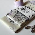 Provance levendulás textil szalvéta - 2 db, Ez a provance levendula mintás szalvéta a ruszti...