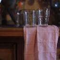 Púder rózsaszín pamut szalvéta, Konyhafelszerelés, Otthon, lakberendezés, Lakástextil, A rusztikus konyha praktikus kiegészítője ez a púder rózsaszín vastag pamut szalvéta. Kelleme..., Meska