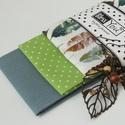 Madártoll mintás puha pamut zsebkendő nőknek, Ezt a madártoll mintás zsebkendő szettet azokna...