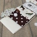 Téli erdő - hóesésben, szarvassal, rókával és őzzel, Igazán praktikus és hasznos ajándék télen, a ...