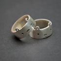 maci gyűrű, Ékszer, Gyűrű, Sterling ezüst Maci gyűrű.  mivel zárt ezért szükséges hozzá a gyűrűméret. eredetileg barátnőknek ké..., Meska