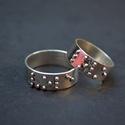 Braille irással LOVE  jegygyűrű, Ékszer, Gyűrű, Egyedi tervezésű jegygyűrűk készítését vállalom. a képen készült gyűrű fehéraranyból készült. a gyűr..., Meska