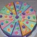 Party torta- pasztell mini, Esküvő, Esküvői dekoráció, Nászajándék, Születésnapra, névnapra, ballagásra, nászajándék átadására, bármilyen alkalomra érdekes meglepetés. ..., Meska