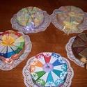 Party torta mini, Esküvő, Férfiaknak, Nászajándék, 5 db 15 cm átmérőjű party torta, 2400 Ft/db., Meska