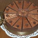Party torta - karamell mini, Esküvő, Esküvői dekoráció, Nászajándék, Ballagás, Szülinapra, névnapra, ballagásra, nászajándék átadására, bármilyen alkalomra érdekes meglepetés. 15 ..., Meska