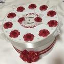 Nászajándék átadó torta- extra nagy, Levehető tetejű nászajándék átadó torta.  2...