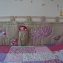 Baglyos falvédő kislány szobába, Baba-mama-gyerek, Dekoráció, Gyerekszoba, Falvédő, takaró, Varrás, EZT A TERMÉKET NE ÜSD LE,HA RENDELNI SZERETNÉL, ÍRJ PRIVÁT ÜZENETET!  Kislányomnak készítettem ezt ..., Meska