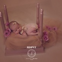 Vintage babaágy - fotós kellék, kiegészítő, Otthon, lakberendezés, Baba-mama-gyerek, Borsószem királykisasszony babaágya, újszülöttfotózásra! Használható asztalként is (lásd utolsó fotó..., Meska