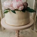 Nosztalgia tortatál - sütis kínálótál esküvőre vagy babafotózásra, Dekoráció, Esküvő, Otthon, lakberendezés, Konyhafelszerelés, Kb. 5-10 nap alatt készül el, készleten sosincs festett darab!  Cupcake, torta, macaron, pogácsa és ..., Meska